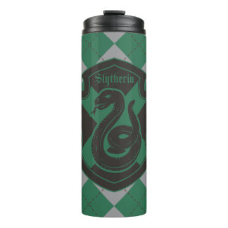 Harry Potter | Slytherin House Pride Crest Thermal Tumbler