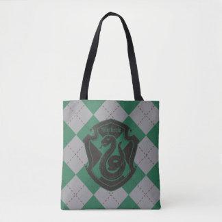 Harry Potter | Slytherin House Pride Crest Tote Bag