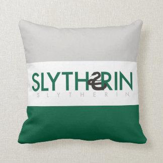 Harry Potter   Slytherin House Pride Logo Cushion