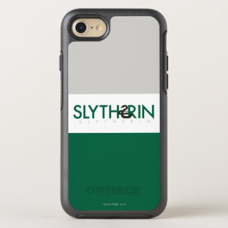 Harry Potter | Slytherin House Pride Logo OtterBox Symmetry iPhone 8/7 Case