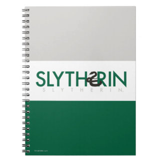 Harry Potter | Slytherin House Pride Logo Spiral Notebooks