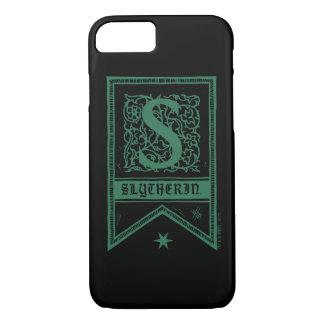 Harry Potter | Slytherin Monogram Banner iPhone 8/7 Case