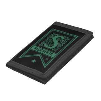 Harry Potter | Slytherin Monogram Banner Tri-fold Wallet