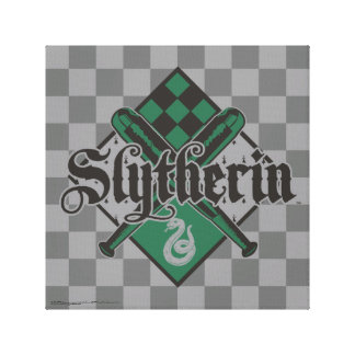 Harry Potter | Slytherin QUIDDITCH™ Crest Canvas Print