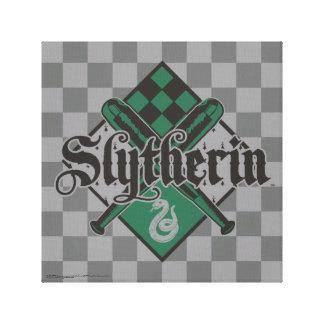 Harry Potter | Slytherin QUIDDITCH™ Crest Canvas Print