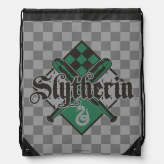 Harry Potter | Slytherin QUIDDITCH™ Crest Drawstring Bag