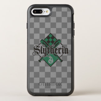 Harry Potter | Slytherin QUIDDITCH™ Crest OtterBox Symmetry iPhone 8 Plus/7 Plus Case