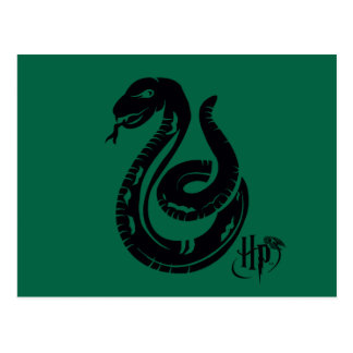 Harry Potter | Slytherin Snake Icon Postcard