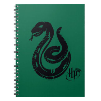 Harry Potter | Slytherin Snake Icon Spiral Note Book