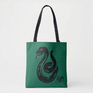 Harry Potter   Slytherin Snake Icon Tote Bag