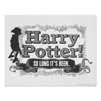Harry Potter So Long it s Been Print