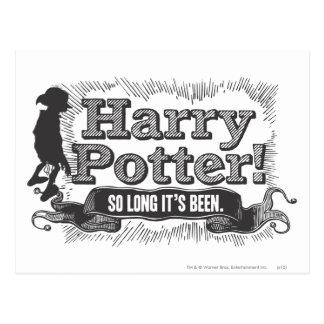 Harry Potter! So Long it's Been Postcard