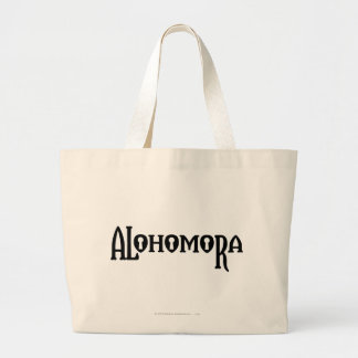 Harry Potter Spell | Alohomora Large Tote Bag