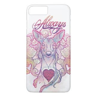 "Harry Potter Spell | ""Always"" Doe Patronus iPhone 8 Plus/7 Plus Case"