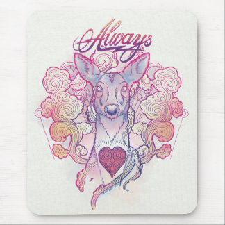 "Harry Potter Spell | ""Always"" Doe Patronus Mouse Mat"