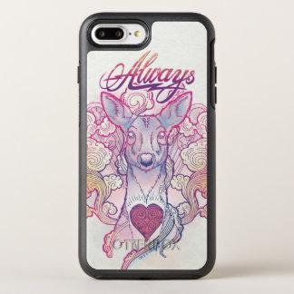 "Harry Potter Spell | ""Always"" Doe Patronus OtterBox Symmetry iPhone 8 Plus/7 Plus Case"