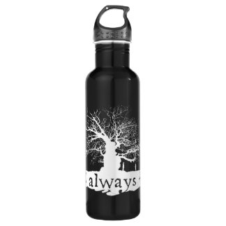Harry Potter Spell | Always Quote Silhouette 710 Ml Water Bottle