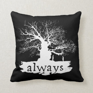 Harry Potter Spell | Always Quote Silhouette Cushion
