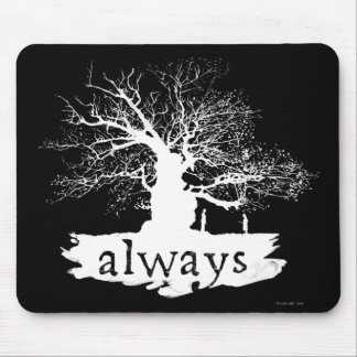 Harry Potter Spell | Always Quote Silhouette Mouse Pad