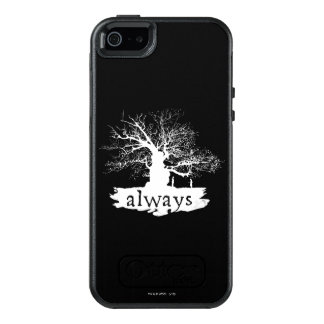 Harry Potter Spell | Always Quote Silhouette OtterBox iPhone 5/5s/SE Case