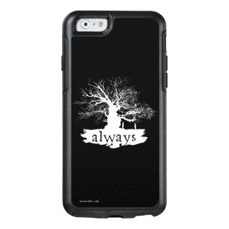 Harry Potter Spell | Always Quote Silhouette OtterBox iPhone 6/6s Case