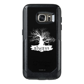 Harry Potter Spell | Always Quote Silhouette OtterBox Samsung Galaxy S7 Case
