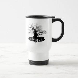 Harry Potter Spell | Always Quote Silhouette Travel Mug