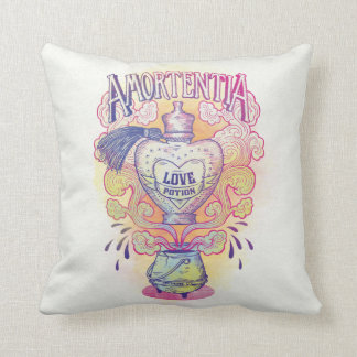 Harry Potter Spell | Amortentia Love Potion Bottle Cushion