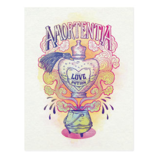 Harry Potter Spell | Amortentia Love Potion Bottle Postcard