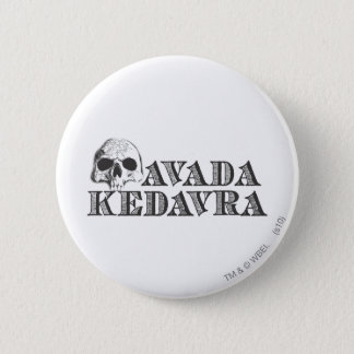 Harry Potter Spell | Avada Kedavra 6 Cm Round Badge