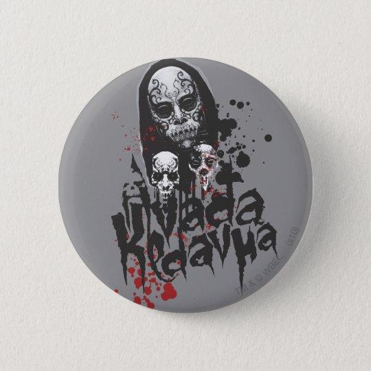 Harry Potter Spell   Death Eater Avada Kedavra 6 Cm Round Badge