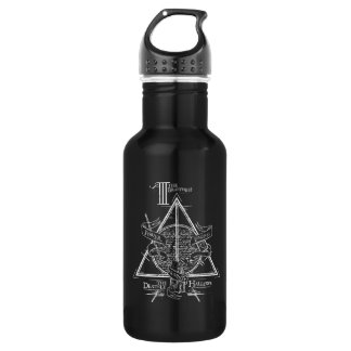Harry Potter Spell | DEATHLY HALLOWS Graphic 532 Ml Water Bottle