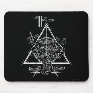 Harry Potter Spell | DEATHLY HALLOWS Graphic Mouse Mat