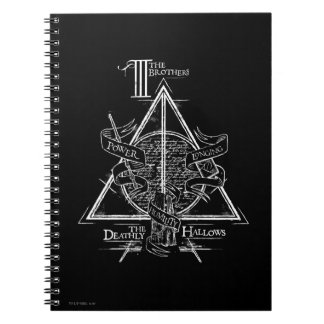 Harry Potter Spell | DEATHLY HALLOWS Graphic Note Books