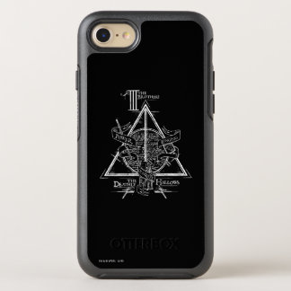 Harry Potter Spell | DEATHLY HALLOWS Graphic OtterBox Symmetry iPhone 8/7 Case