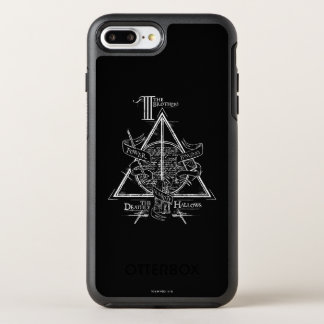 Harry Potter Spell | DEATHLY HALLOWS Graphic OtterBox Symmetry iPhone 8 Plus/7 Plus Case