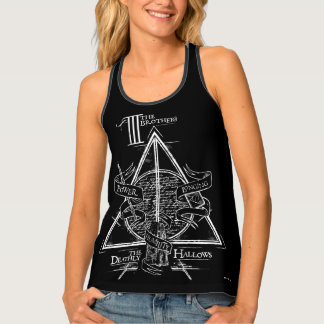 Harry Potter Spell | DEATHLY HALLOWS Graphic Tank Top