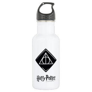 Harry Potter Spell | Deathly Hallows Icon 532 Ml Water Bottle