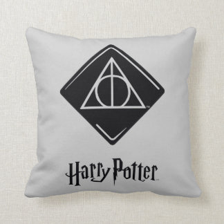 Harry Potter Spell | Deathly Hallows Icon Cushion