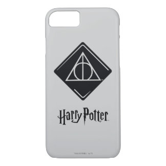 Harry Potter Spell | Deathly Hallows Icon iPhone 8/7 Case
