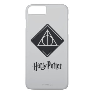 Harry Potter Spell | Deathly Hallows Icon iPhone 8 Plus/7 Plus Case