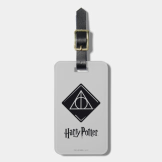 Harry Potter Spell | Deathly Hallows Icon Luggage Tag