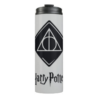 Harry Potter Spell | Deathly Hallows Icon Thermal Tumbler