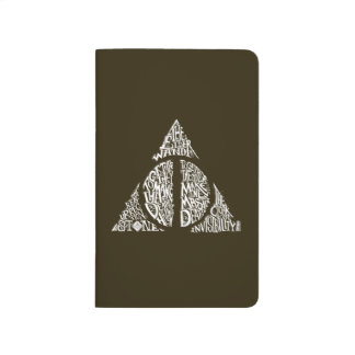 Harry Potter Spell | DEATHLY HALLOWS Typography Gr Journals