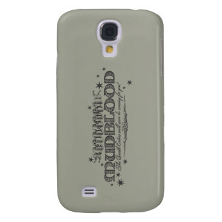 Harry Potter Spell | Filthy Mudblood Galaxy S4 Case