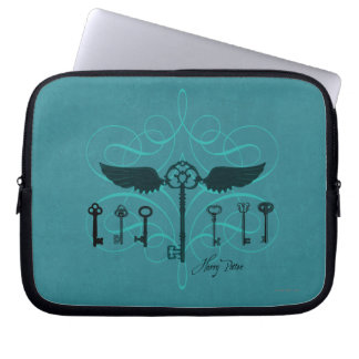 Harry Potter Spell | Flying Keys Laptop Sleeve