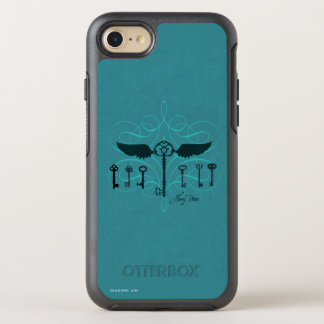 Harry Potter Spell   Flying Keys OtterBox Symmetry iPhone 7 Case