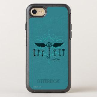 Harry Potter Spell | Flying Keys OtterBox Symmetry iPhone 8/7 Case