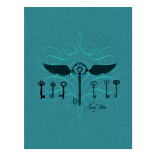 Harry Potter Spell | Flying Keys Postcard