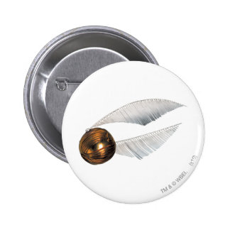 Harry Potter Spell | Golden Snitch 6 Cm Round Badge